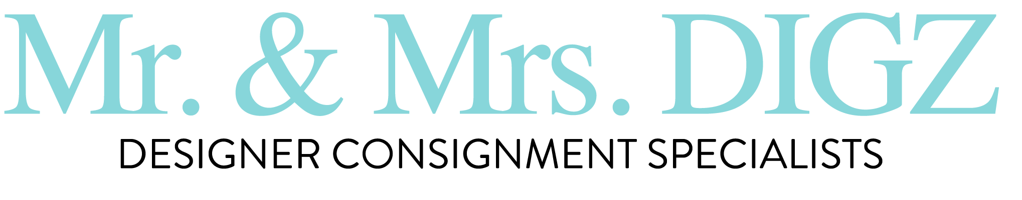 Mr and Mrs Digz Logo