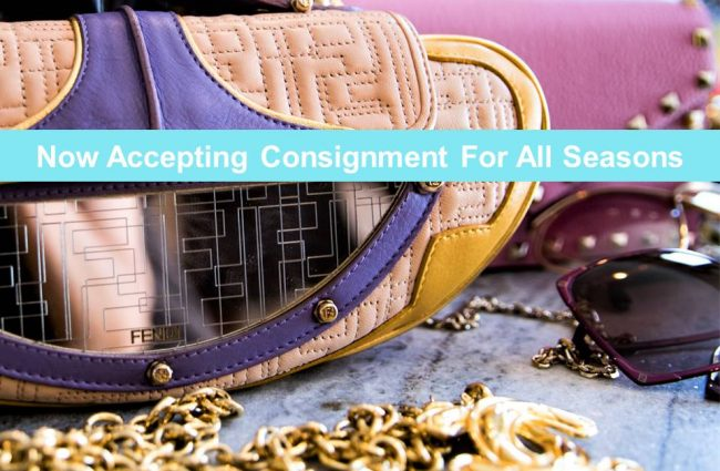 Accepting All Season Consignment